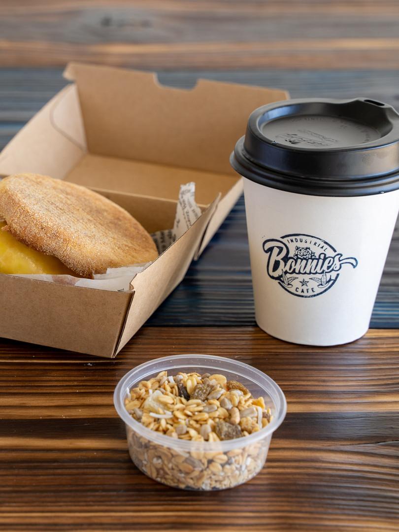 Quick Breakfast at Bonnies