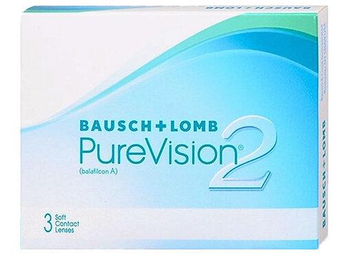 PureVision 2 mensais esféricas