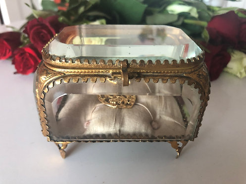 Antique French Jewelry Box/Casket