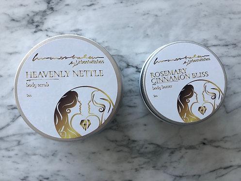 Gift Box: Body Scrub + Body Butter