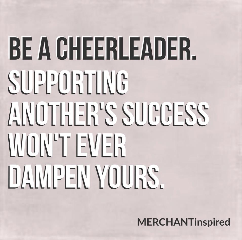 Retail Industry Cheerleader