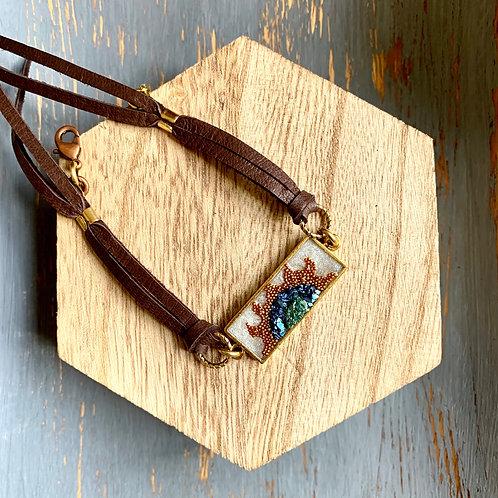 Mixed Media Tassel Bracelet