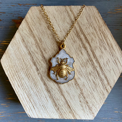 Bee Crest Necklace