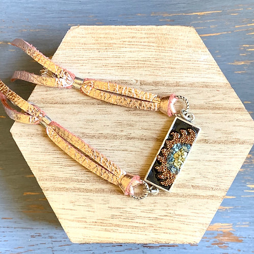 Mixed Media Tassel Bracelet