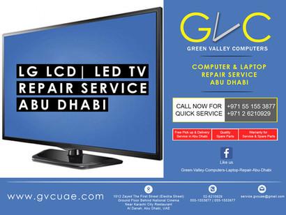 lg led, lcd, smart TV Repair Service in abu dhabi