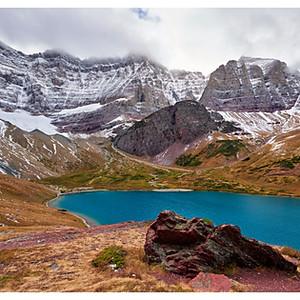 Glacier National Park Cracker Lake