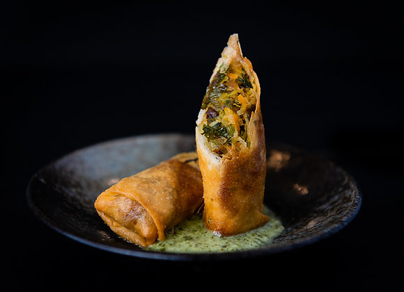 Garden Fresh Vegan Spring Roll (10)