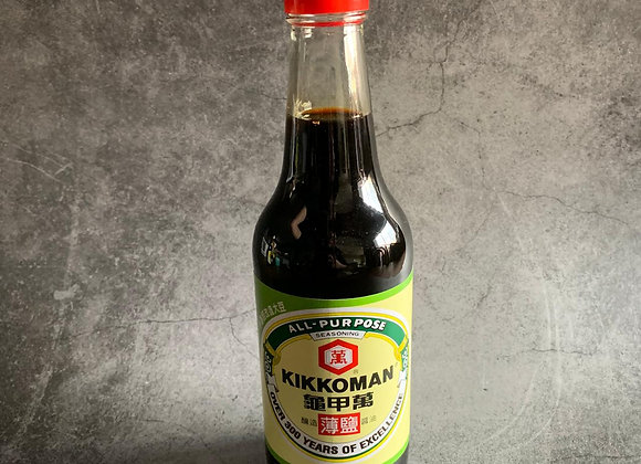 Kikkoman Soy Sauce (Less Sodium) 500ml