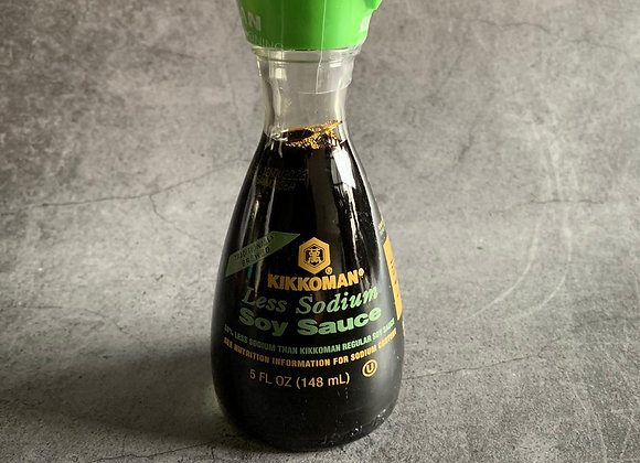 Kikkoman Soy Sauce (Less Sodium) 148ml