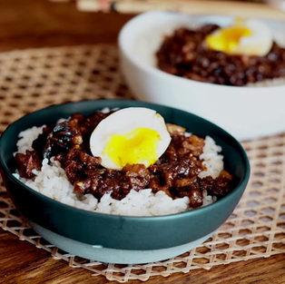 5 Spice Braised Pork Rice 魯肉飯