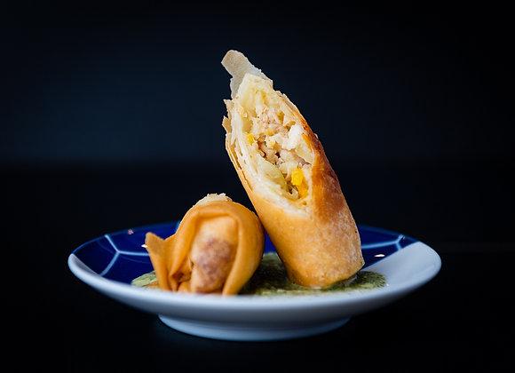 Thai Chicken Spring Rolls (10)