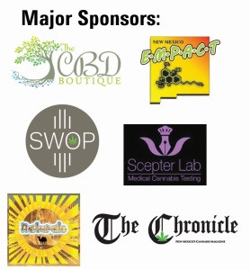 Major Sponsors include NM EMPACT, The Chronicle, Southwest Organic Producers, Naturals and Verdes!