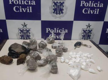 Suspeitos de envolvimento com tráfico de drogas são presos em Coité
