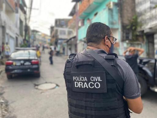Draco prende o maior assaltante de bancos da Bahia em São Paulo