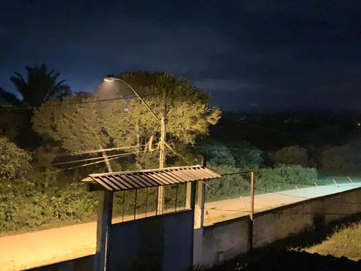 Prefeitura executa melhorias na iluminação pública do Bairro São Judas Tadeu