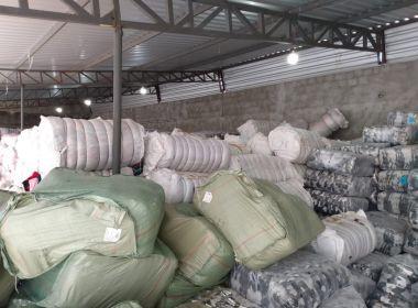 Sefaz e polícia descobrem depósito clandestino em Feira com R$ 5 mi em mercadorias