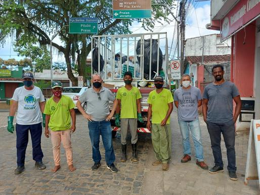 Itacaré continua com Programa de Coleta Seletiva nos bairros e órgãos públicos