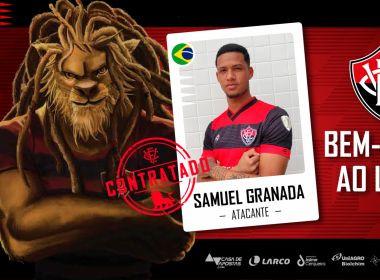 Vitória anuncia contratação do atacante Samuel Granada
