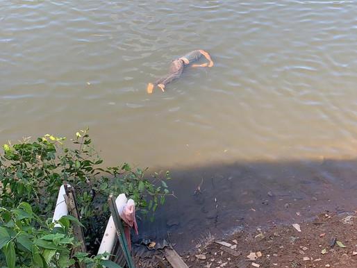 Ilhéus: Corpo desconhecido foi encontrado boiando próximo ao rio do Vilela