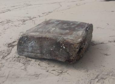 Una: Novo fardo de 'caixas misteriosas' aparece em litoral baiano