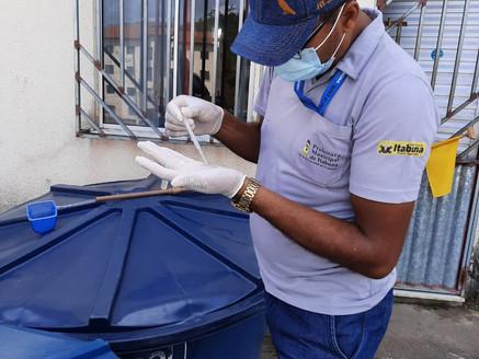 Índice de infestação da dengue cai  para 5,1% em Itabuna, segundo o LIRAa.