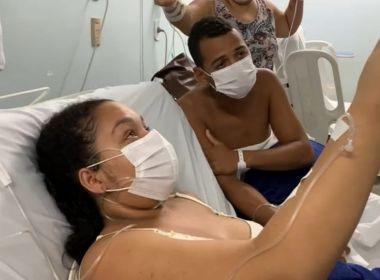 Itabuna: Pais separados por piora de Covid-19 veem filho pela 1ª vez