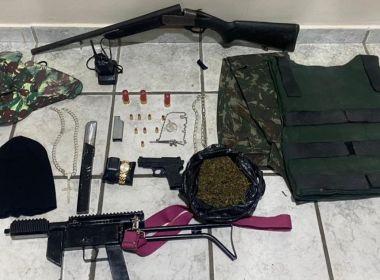 Gandu: Suspeitos de liderar tráfico de drogas morrem em ação policial