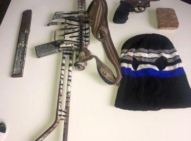 Ubatã: Durante operação dois homens morrem; submetralhadora é encontrada