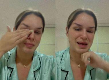 Sem emprego, ex de DJ Ivis chora ao cobrar pensão da filha na Justiça: 'Estou cansada'