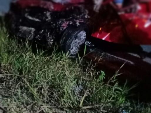 Eunápolis: Acidente grave entre caminhão tanque e Strada