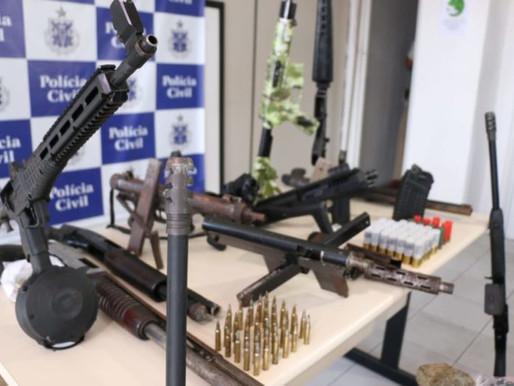 Governo da Bahia quadruplica valor de prêmio pago por apreensão de armas