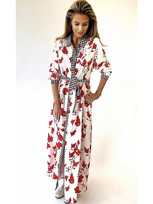 Est ' Red - Blossom Dress