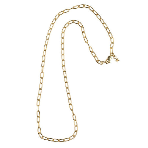 Betty Bogaers - Big Chain Necklace Gold Plated (45 cm)