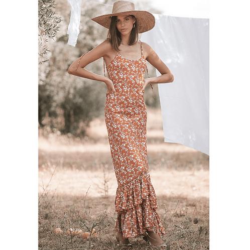 Adriana Maxi Dress - Poppy Field The Label