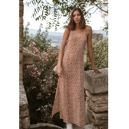 Laura Midi Dress - Poppy Field The Label