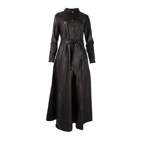 Est Seven - Black Dress Button Down