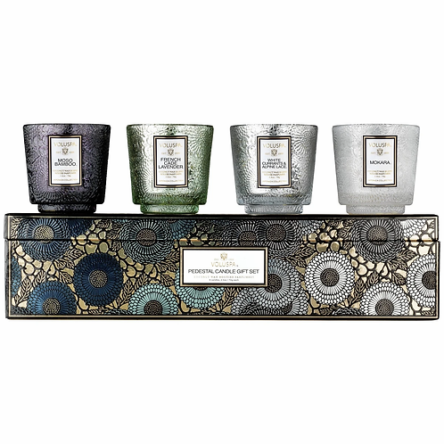 Voluspa - Pedestal 4 Candle Gift Set