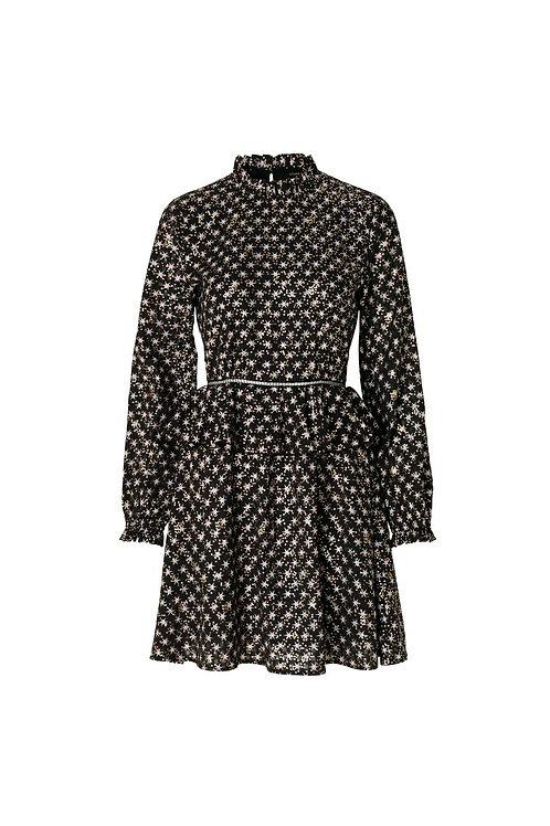 Stine Goya - Christine dress Stars black