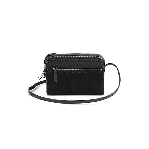 Flora Crossbody Bag, Black - Markberg