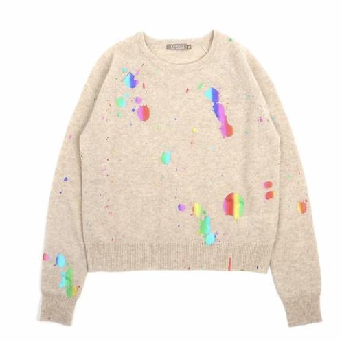 Brodie - Cashmere Foil Splatter Sweatshirt