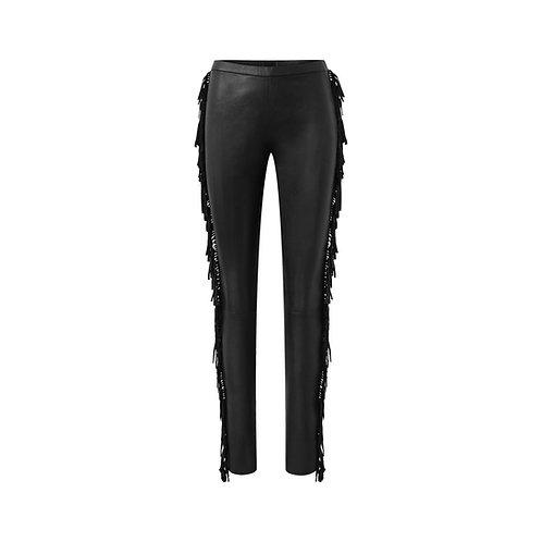 Depeche - Legging w/fringes 50140