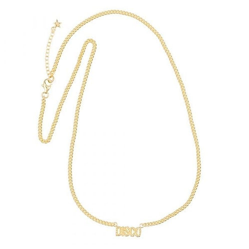 Disco Necklace Gold Plated - Betty Bogaers