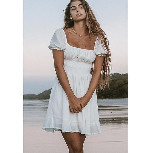 Lusiana Mini Dress - Poppy Field The Label