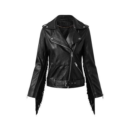 Depeche - Biker jacket w/fringe 50150