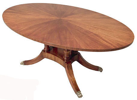 Etched Dining Table