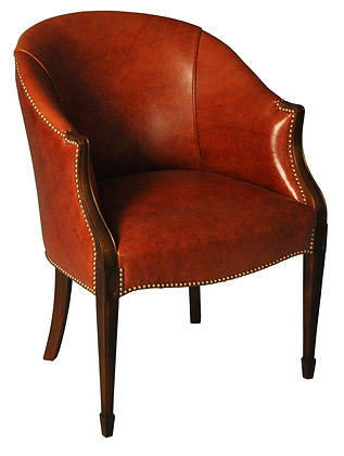 Exposed Barrel Chair