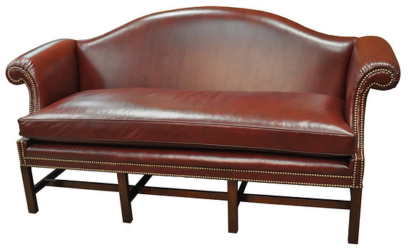Chippendale Camelback Sofa