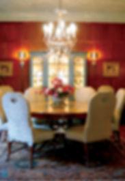 Custom dining room set.