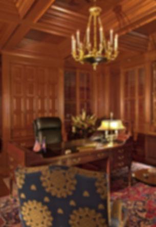 Custom office furniture.