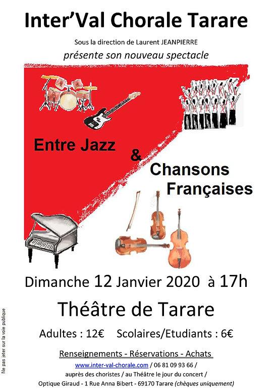 InterVal - Affiche concert 12 janvier 20